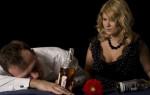 Жена и дети алкоголика