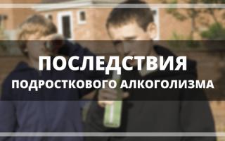 Подростковый алкоголизм — причины, влияние на организм, особенности, последствия и профилактика