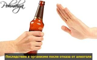 Последствия отказа от алкоголя: изменения в организме