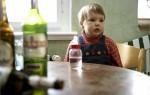 Мать алкоголичка. Что делать?