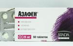 Азафен и алкоголь: совместимость антидепрессанта и спиртного