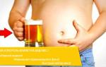 Влияние алкоголя на вес мужчины и женщины