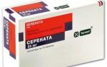 Таблетки «Серената»: инструкция по применению, аналоги, отзывы