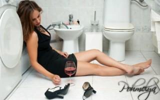 Что делать, если тошнит после алкоголя?