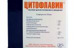 Совместимость Цитофлавина с алкоголем